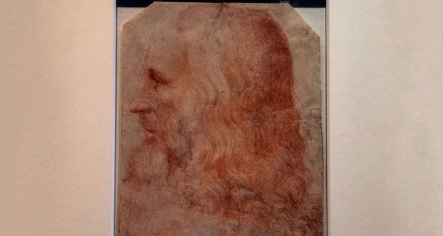 Newly identified Da Vinci portrait to go on display in London
