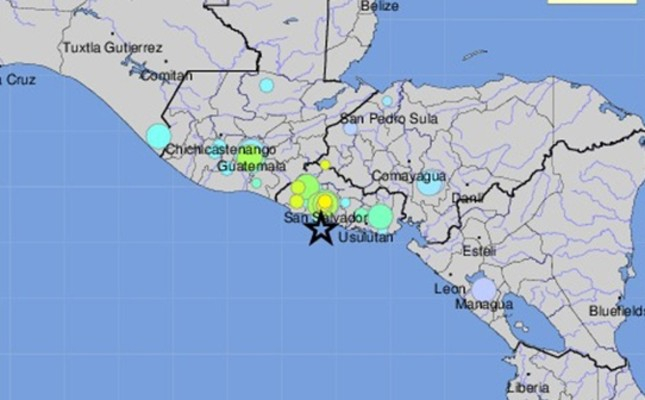 6.6 magnitude earthquake rocks El Salvador, tsunami possible