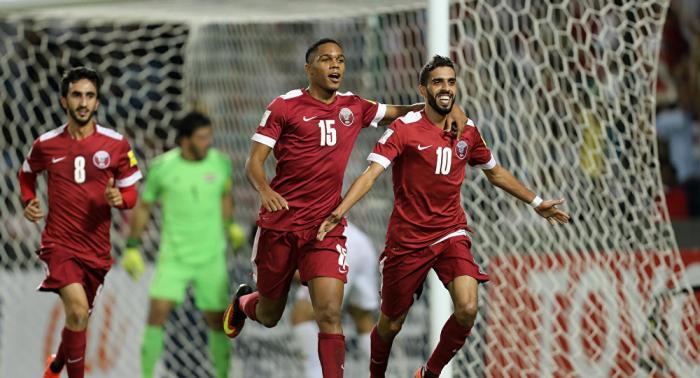 """المنتخب القطري لكرة القدم يستعد للمشاركة في """"كوبا أمريكا"""" بالبرازيل"""
