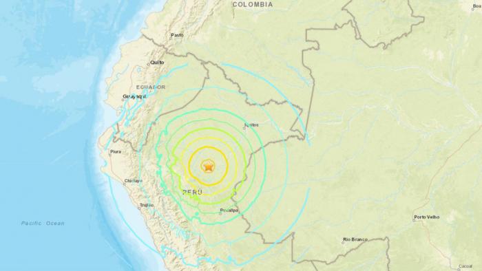 Un sismo de 8,0 sacude Perú, Ecuador, Brasil y Colombia