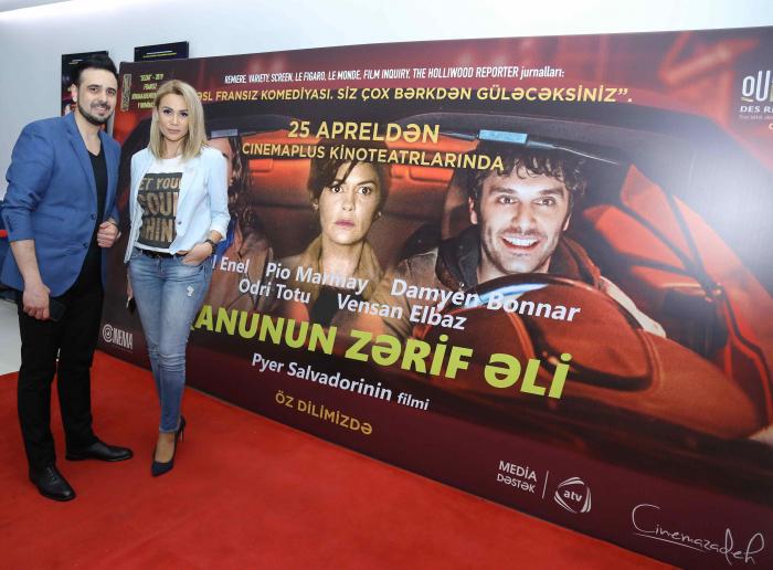 """""""Qanunun zərif əli"""" """"CinemaPlus""""da"""