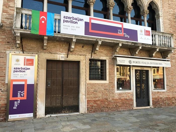 Azərbaycan Venesiya Biennalesində təmsil olunur - FOTOLAR