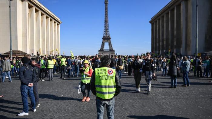 «Gilets jaunes»:   28e samedi de manifestations