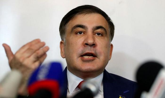"""Saakaşvili tərəfdarlarına səsləndi: """"Biz ancaq hücum etməliyik"""""""