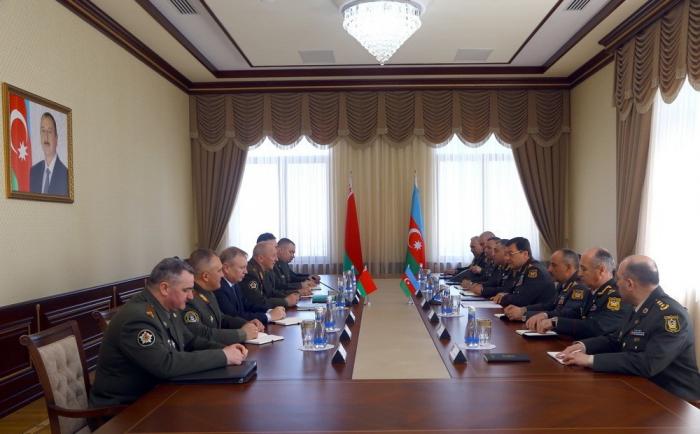 Belarusla hərbi əməkdaşlıq müzakirə edilib - VİDEO