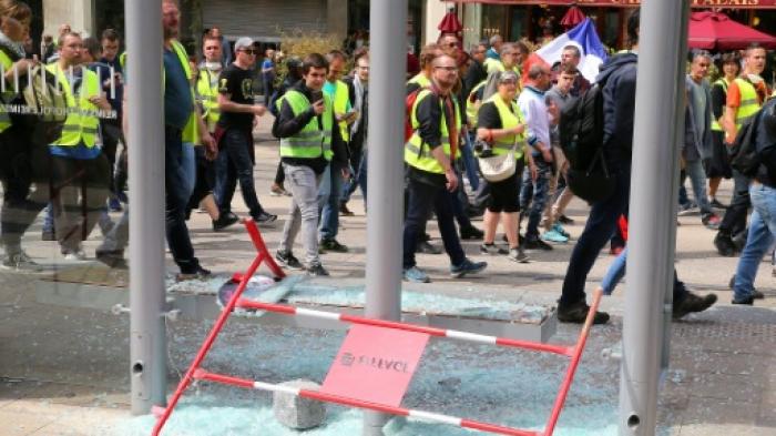 «Gilets jaunes»: les vitres des locaux de France Bleu à Reims vandalisées