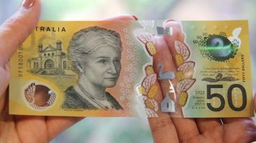 Australia's A50$ note mispells responsibility