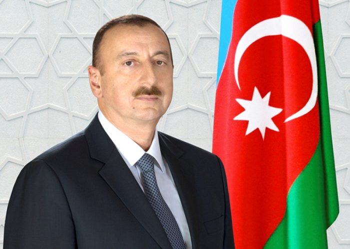 Le président Aliyev félicite le roi de Jordanie