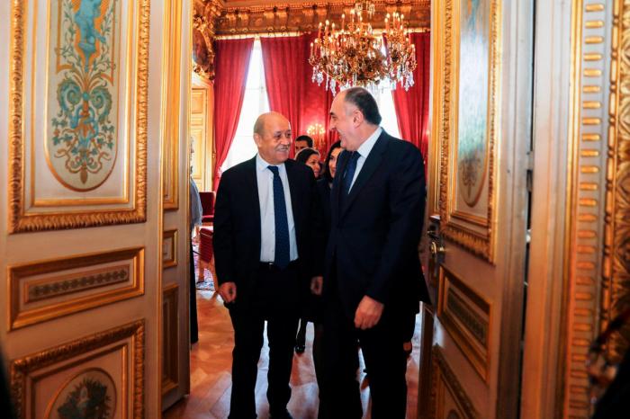 Mammadyarov rencontre son homologue français à Paris