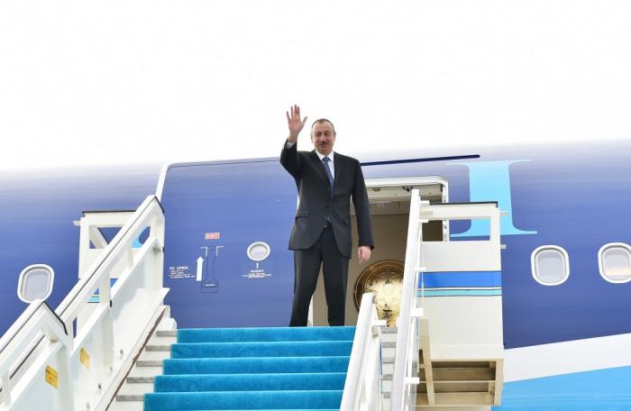Concluye la visita del presidente de Azerbaiyán al Reino de Bélgica