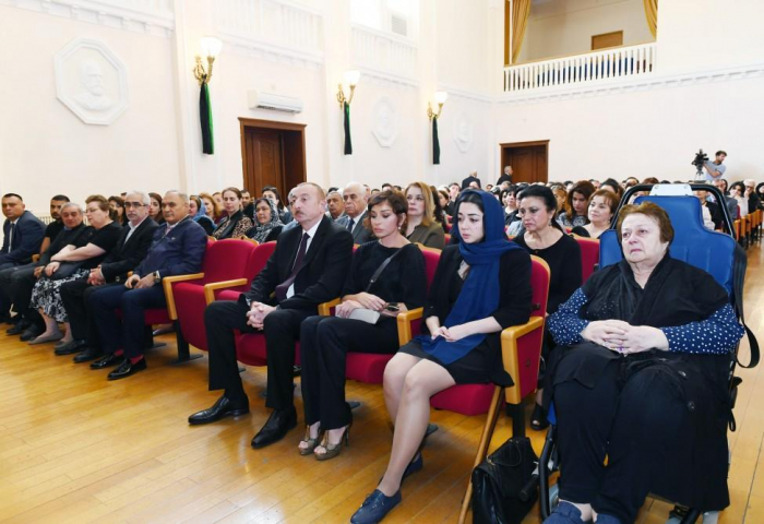 President Ilham Aliyev attends farewell ceremony for prominent composer Arif Malikov