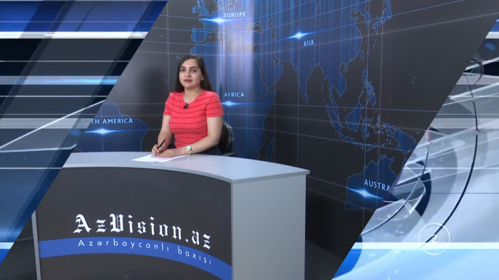 AzVision TV releases new edition of news in English for May 24 -   VIDEO