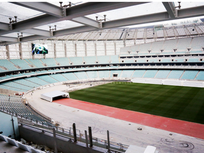 Lawn at Baku Olympic Stadium receives highest appraisal from UEFA