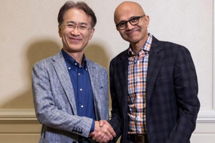 Un partenariat historique entre Microsoft et Sony à propos du cloud gaming