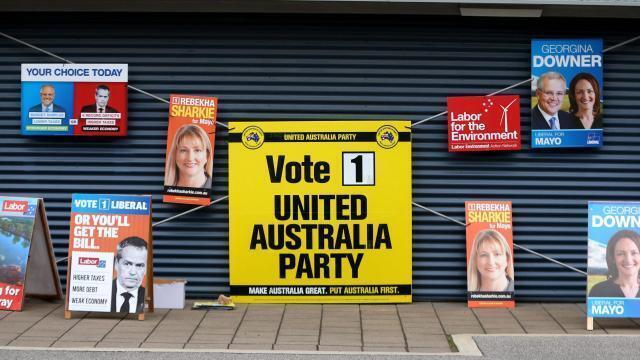 Législatives: les Australiens votent, sur fond d
