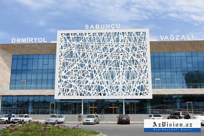 Sabunçu vağzalı təmirdən sonra - FOTOLAR+VİDEO