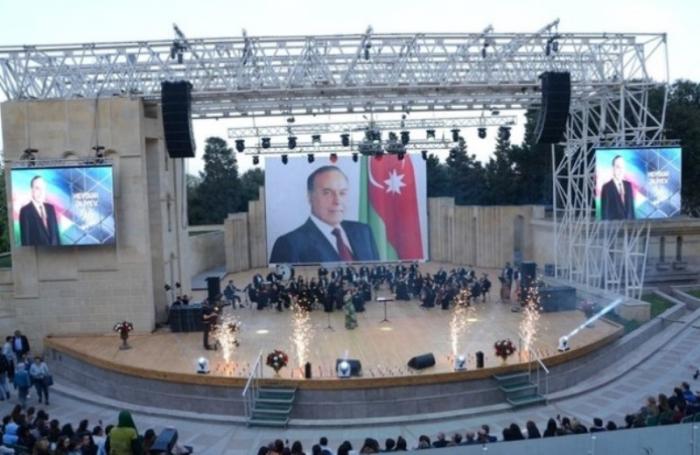 Heydər Əliyevin 96-cı ildönümü ilə bağlı konsert keçirilib