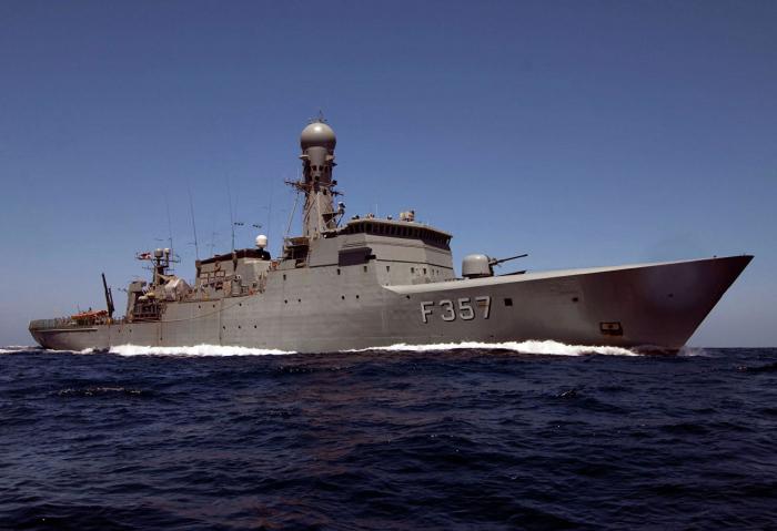 NATO gəmiləri Baltik dənizinə girdi - VİDEO