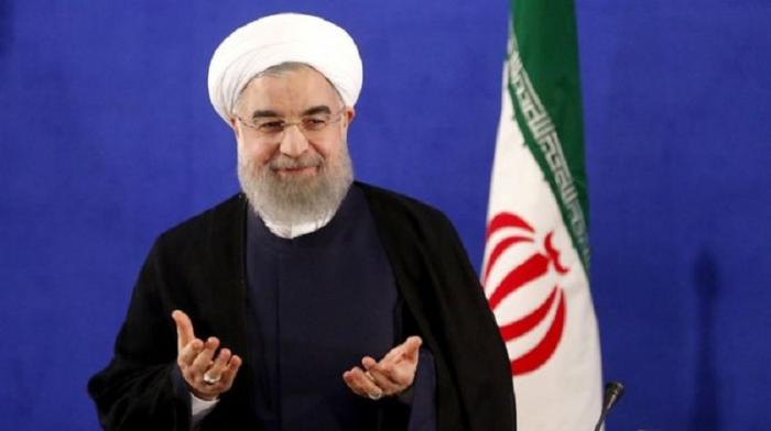 """""""ABŞ-la istənilən məsələni müzakirə etməyə hazırıq"""" - Ruhani"""