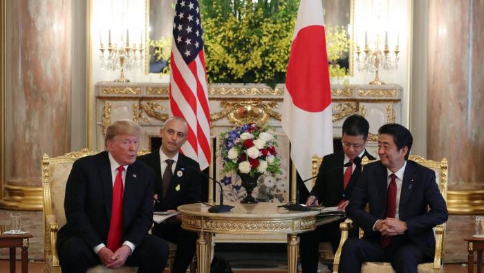 Japon : Trump, premier hôte du nouvel empereur Naruhito