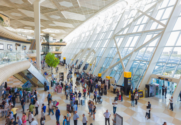 Azerbaijan's airports served almost 1.5 million passengers in first four months 2019