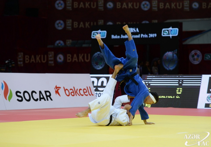 Azerbaijani judokas grab nine medals on Day 1 of IBSA Grand Prix in Baku