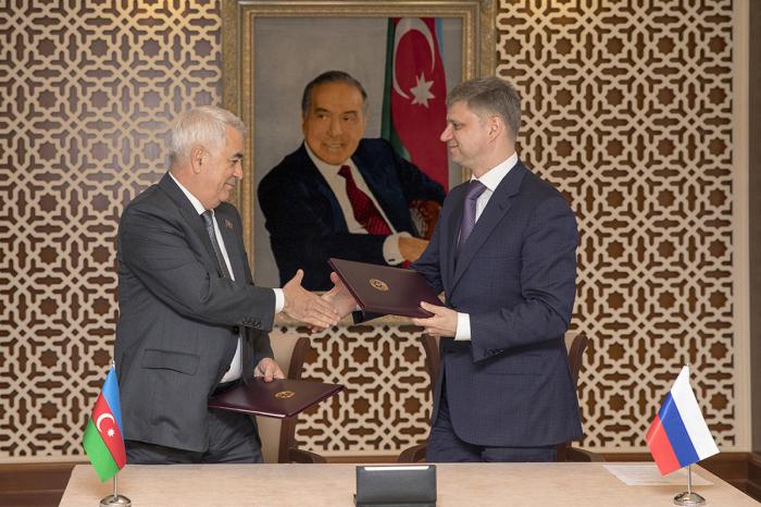 Azerbaijani, Russian railways sign memorandum