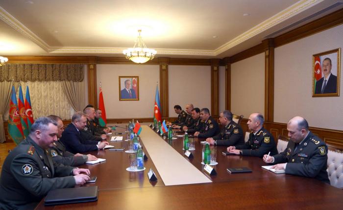 Azerbaijan, Belarus mull prospects for development of military-technical co-op
