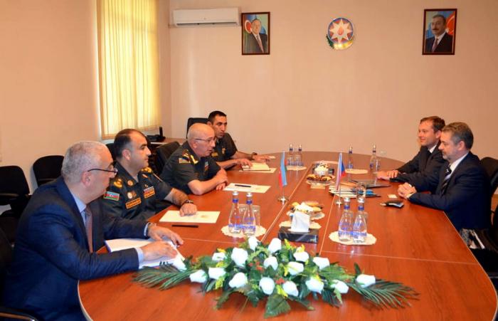 Azərbaycanla Çexiya arasında hərbi danışıqlar aparıldı