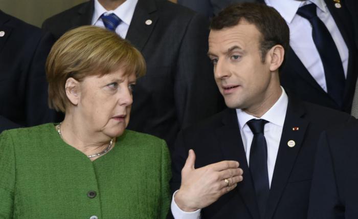 """Angela Merkel reconnaît avoir des """"confrontations"""" avec Macron"""