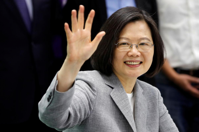 Taiwan president says China steps up infiltration efforts