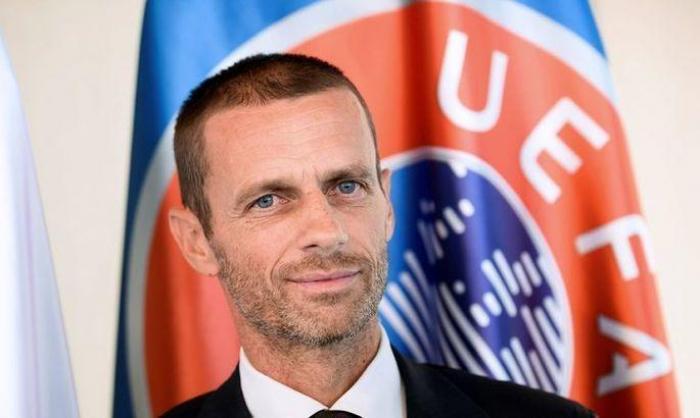 UEFA president Ceferin defends Baku final