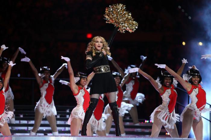 Madonna chantera à l