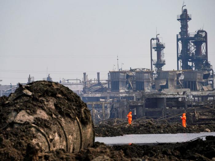 La Chine prévoit de déplacer 80% de ses usines chimiques