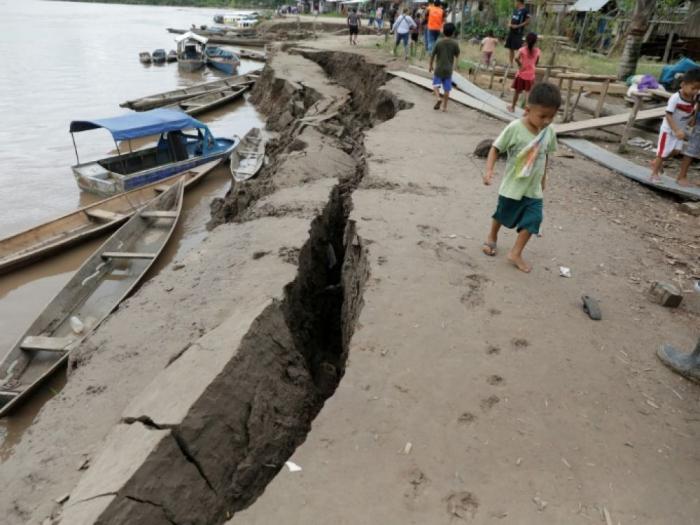 Séisme :  1 mort et 26 blessés  au Pérou et en Equateur