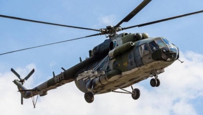 Ukraynada helikopter qəzası - 5 nəfər öldü