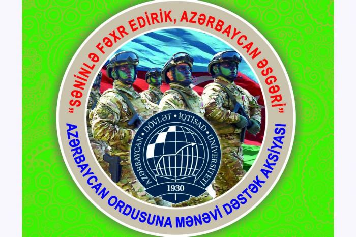 Azərbaycan Ordusuna mənəvi dəstək aksiyası