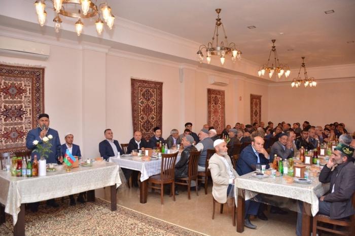 Heydər Əliyev Fondu Şamaxıda iftar verdi - FOTOLAR