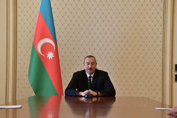 International organizations do not put enough pressure on Armenia - President Aliyev