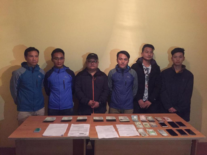 Biləsuvarda 6 Nepal vətəndaşı saxlanılıb - FOTO