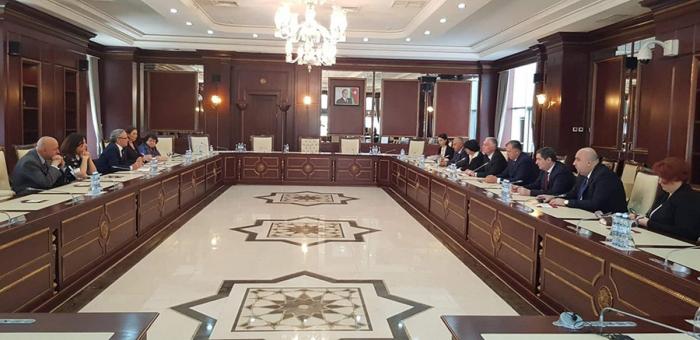 Azerbaijani, Georgian parliamentarians mull co-op between two countries