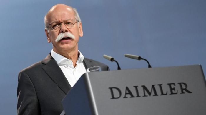 Vorstandsvorsitzender Zetsche tritt ab