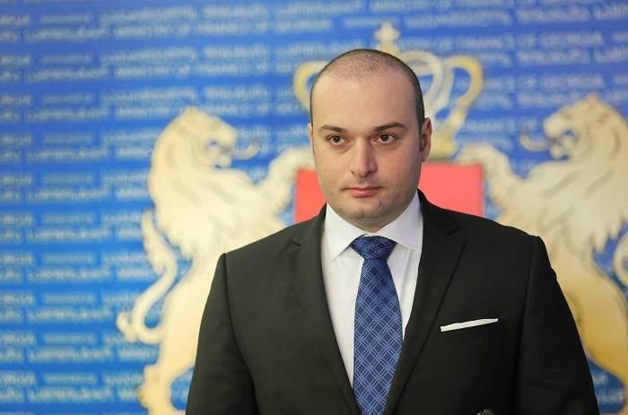Le Premier ministre géorgiens