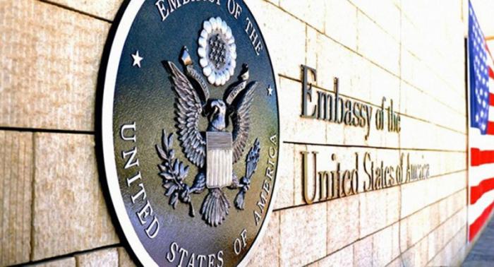 Atacan con pintura la residencia del embajador de EEUU en Grecia