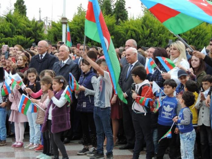 Heydər Əliyev Fondu Xaçmazda konsert təşkil edib