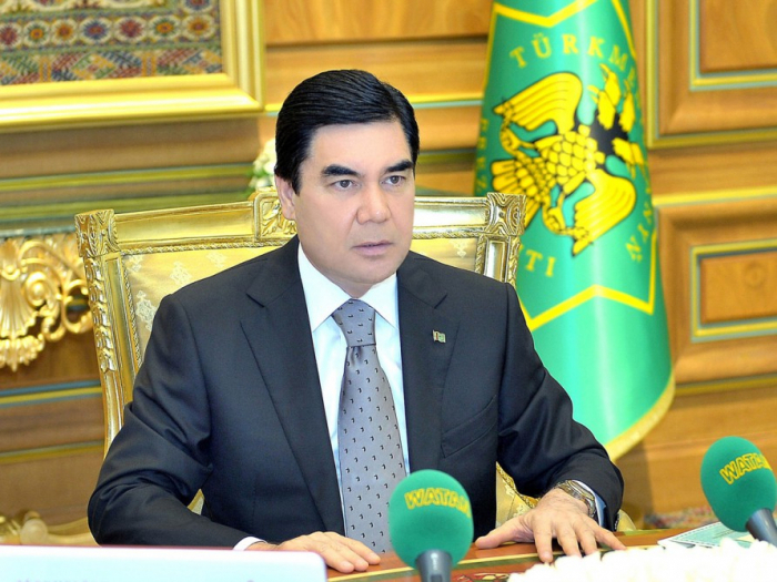 Presidente turkmeno felicita a Ilham Aliyev