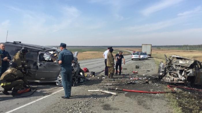 Azərbaycanlı Rusiyada yanaraq öldü - VİDEO