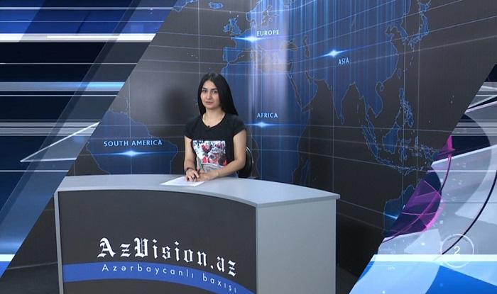 AzVision Nachrichten: Alman dilində günün əsas xəbərləri (24 may) - VİDEO