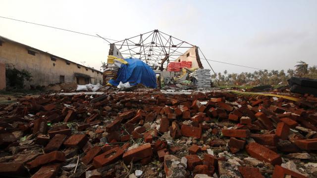 Inde : le bilan du cyclone Fani s