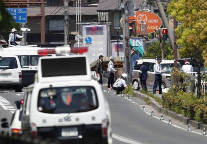 Car rams into group of preschool children in Japan, 15 people in hospital